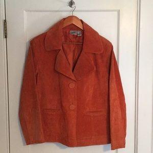 Chico's Leather Jacket